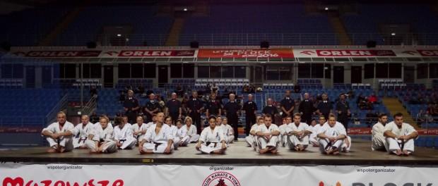 KOMUNIKAT KOŃCOWY XIV Mistrzostwa Polski Seniorów Open i Kata Karate Kyokushin Płock 21 | 12 | 2013