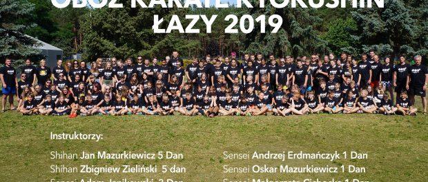 OBÓZ SPORTOWY ŁAZY 14-24.07.2019